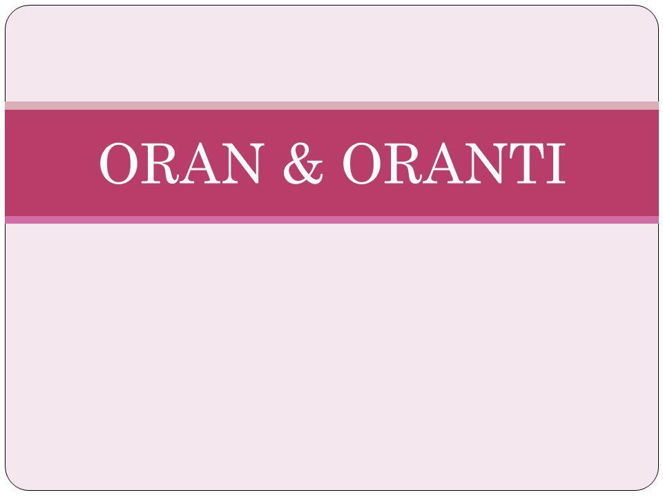 ORAN & ORANTI