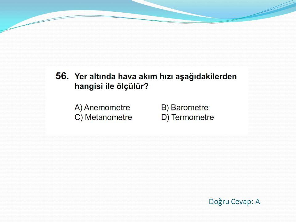 Doğru Cevap: A