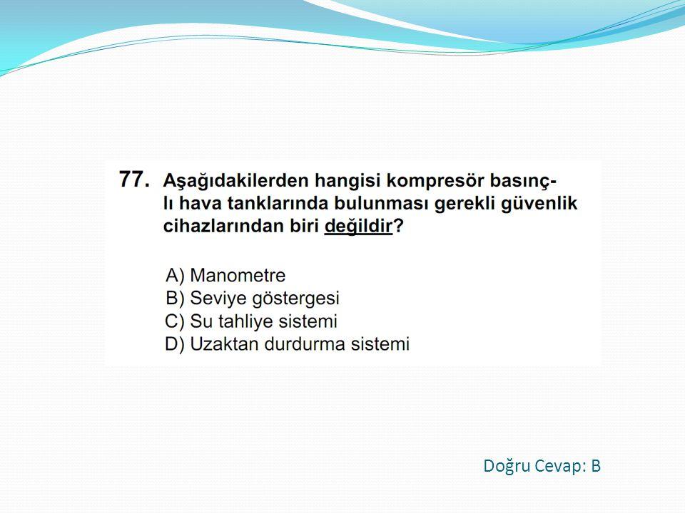 Doğru Cevap: B