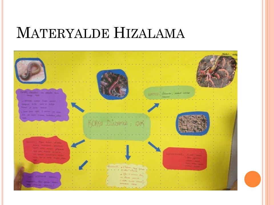 Materyalde Hizalama