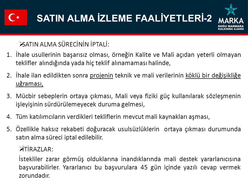 SATIN ALMA İZLEME FAALİYETLERİ-2