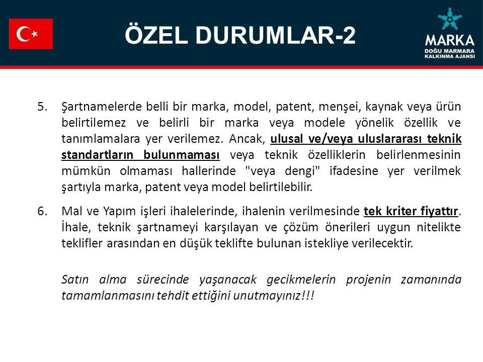ÖZEL DURUMLAR-2