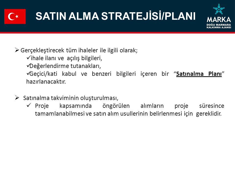SATIN ALMA STRATEJİSİ/PLANI