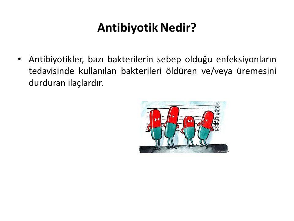 Antibiyotik Nedir