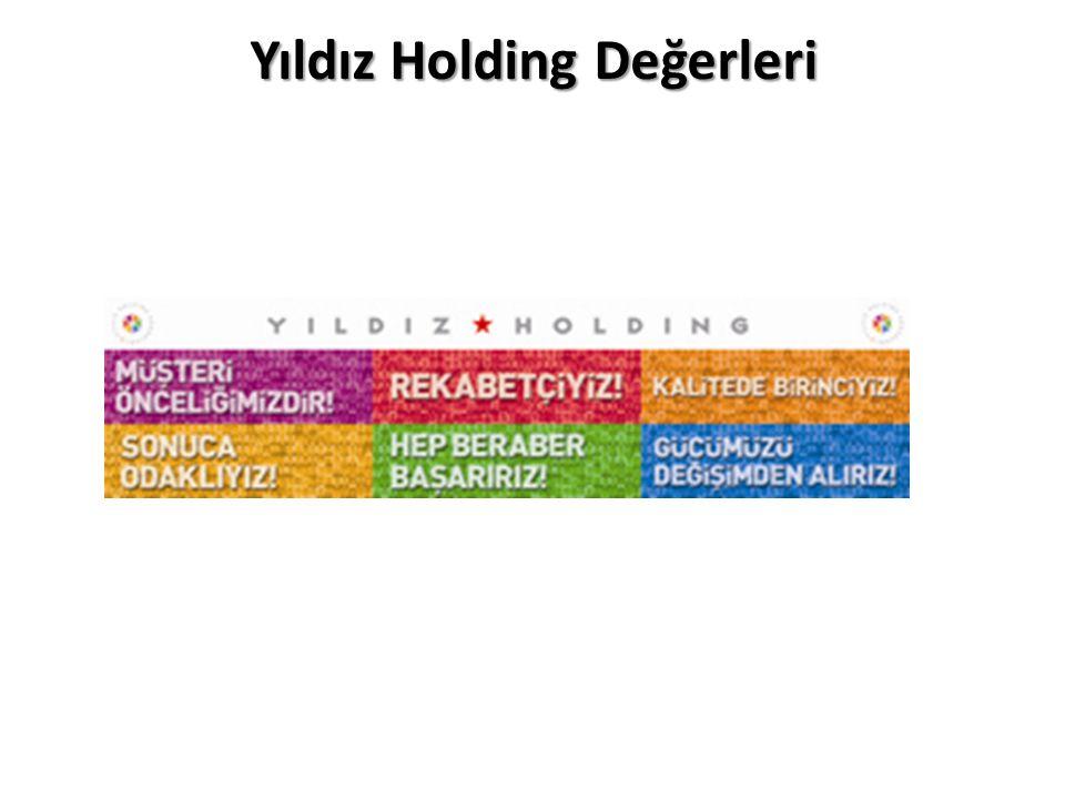 Yıldız Holding Değerleri
