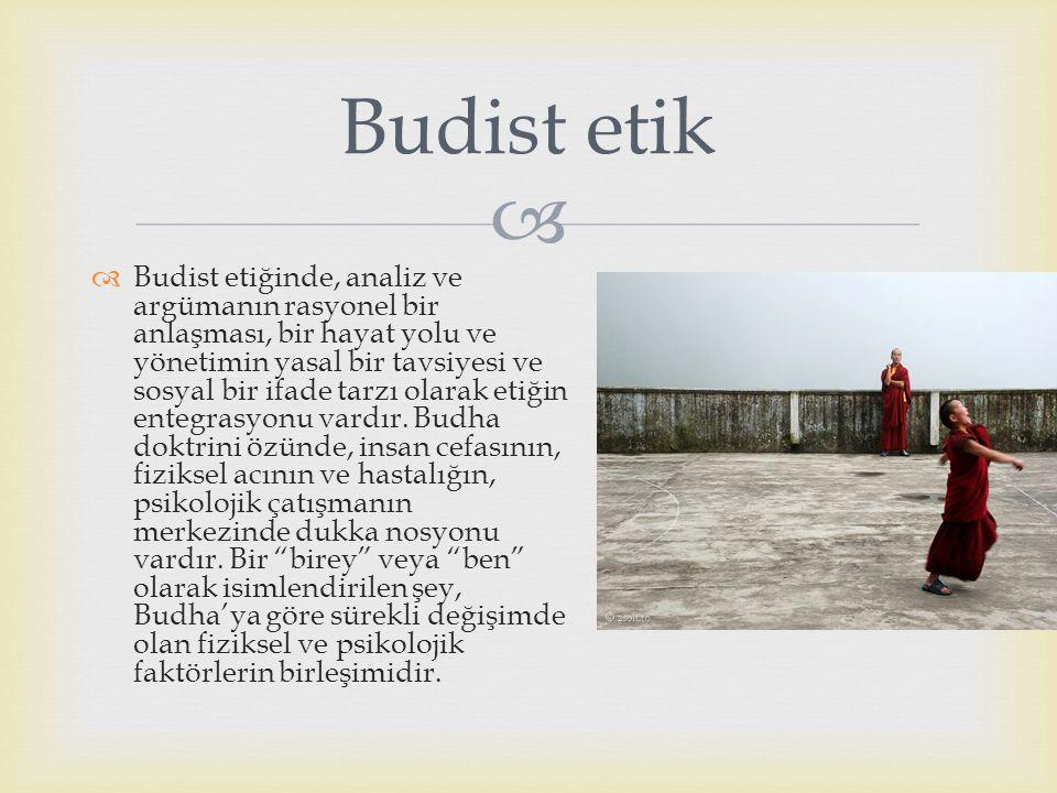 Budist etik