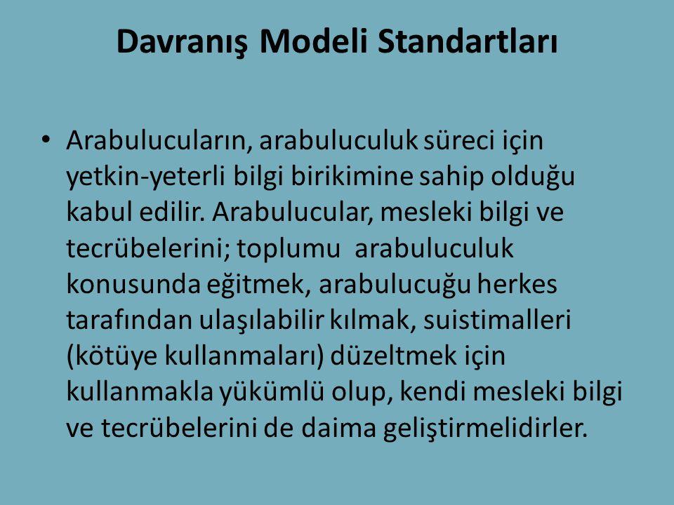 Davranış Modeli Standartları