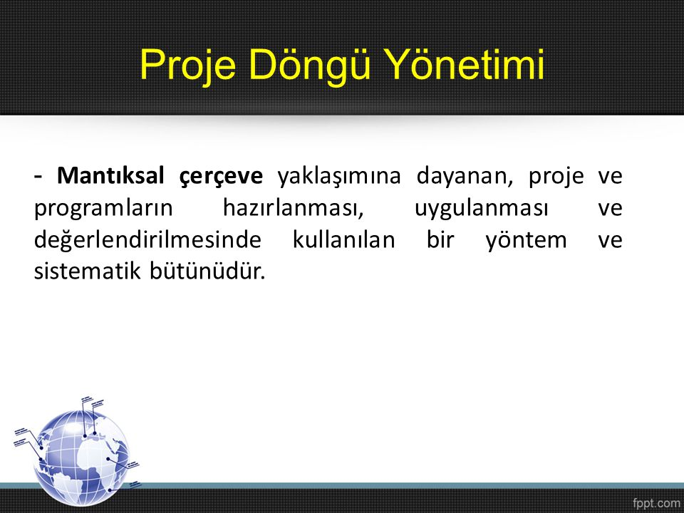 Proje Döngü Yönetimi