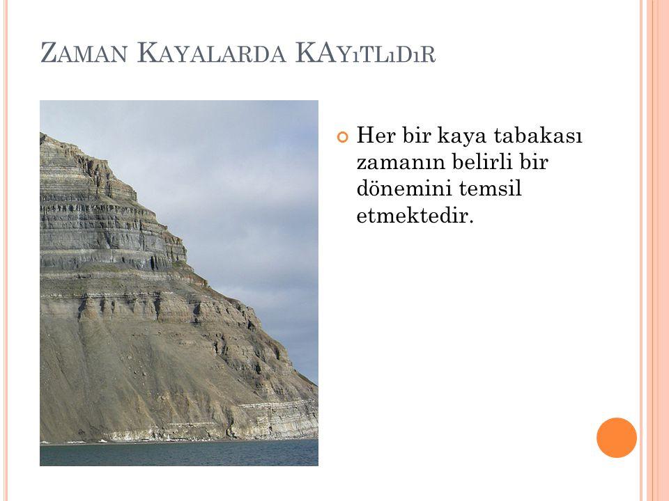 Zaman Kayalarda KAyıtlıdır