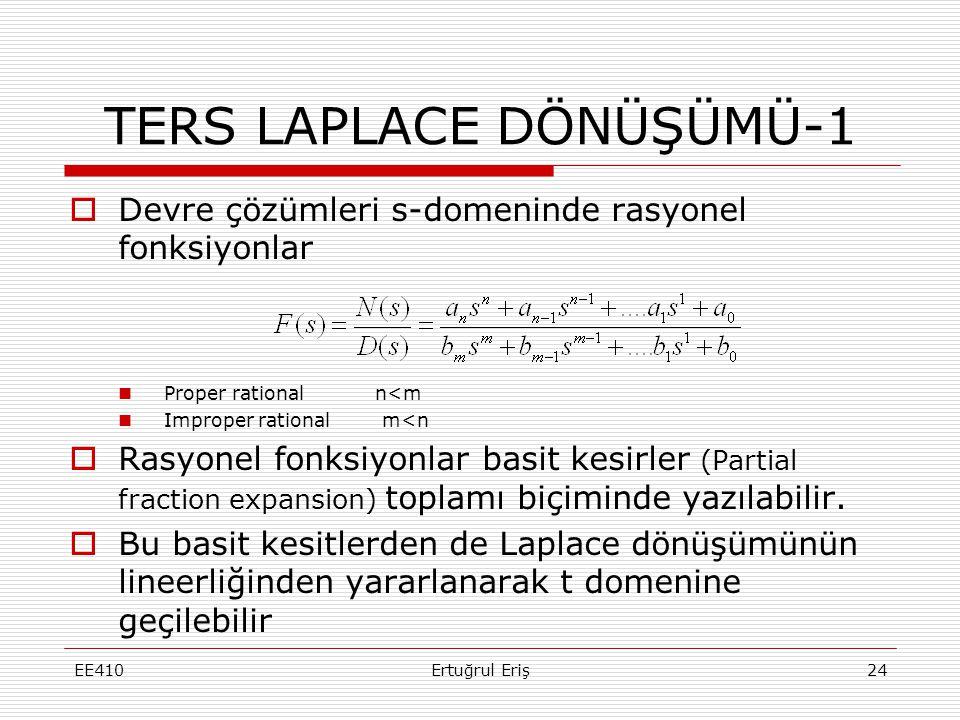 TERS LAPLACE DÖNÜŞÜMÜ-1