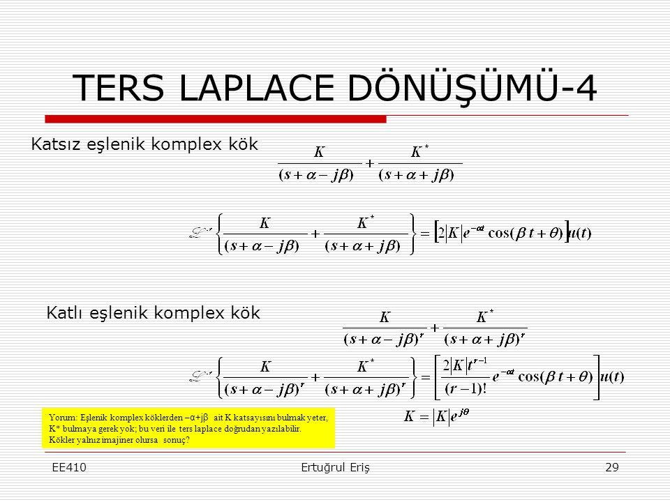 TERS LAPLACE DÖNÜŞÜMÜ-4