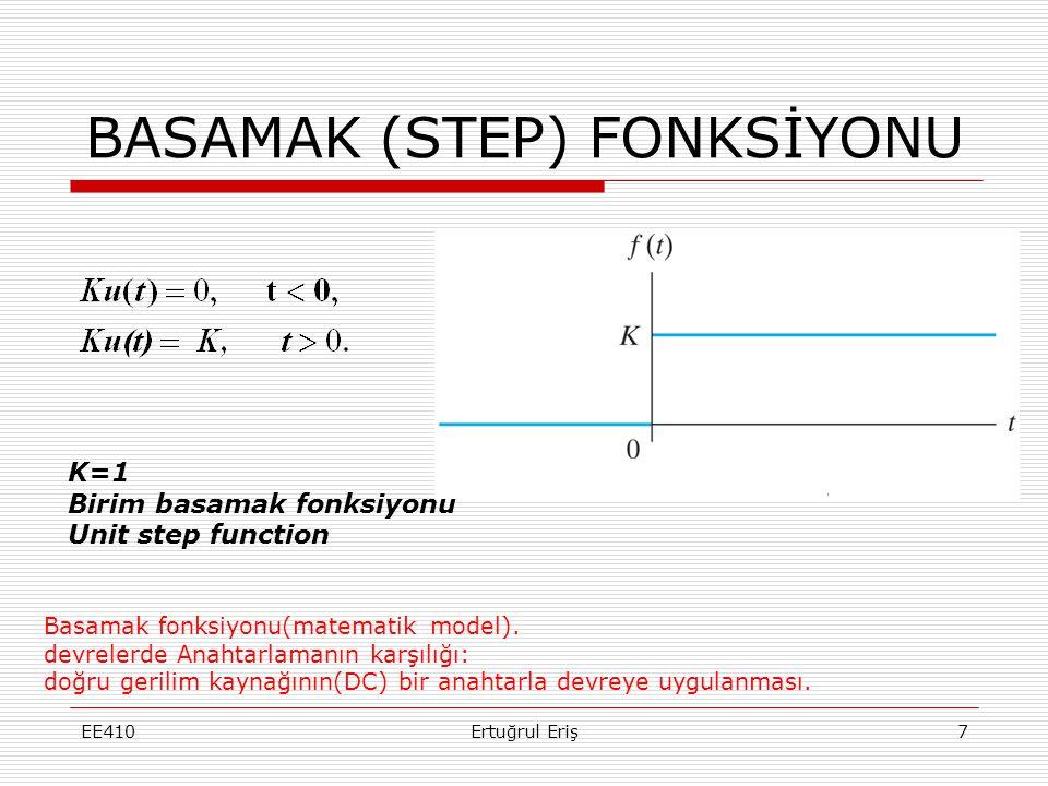 BASAMAK (STEP) FONKSİYONU