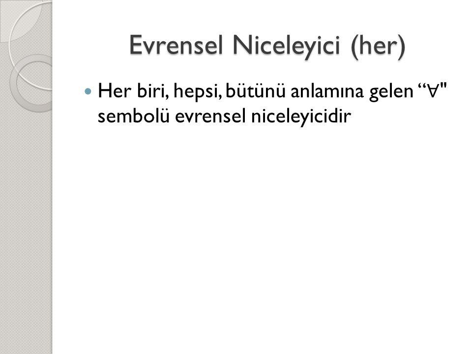 Evrensel Niceleyici (her)