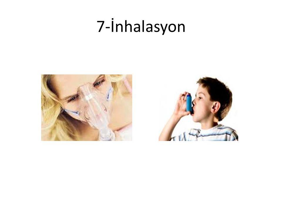 7-İnhalasyon