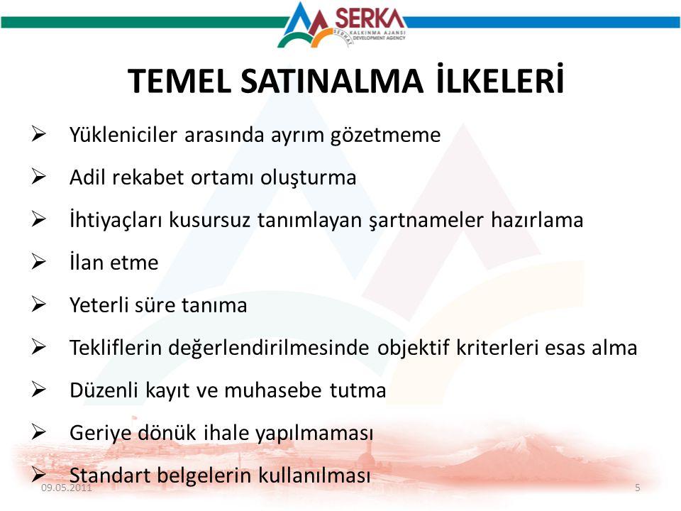 TEMEL SATINALMA İLKELERİ