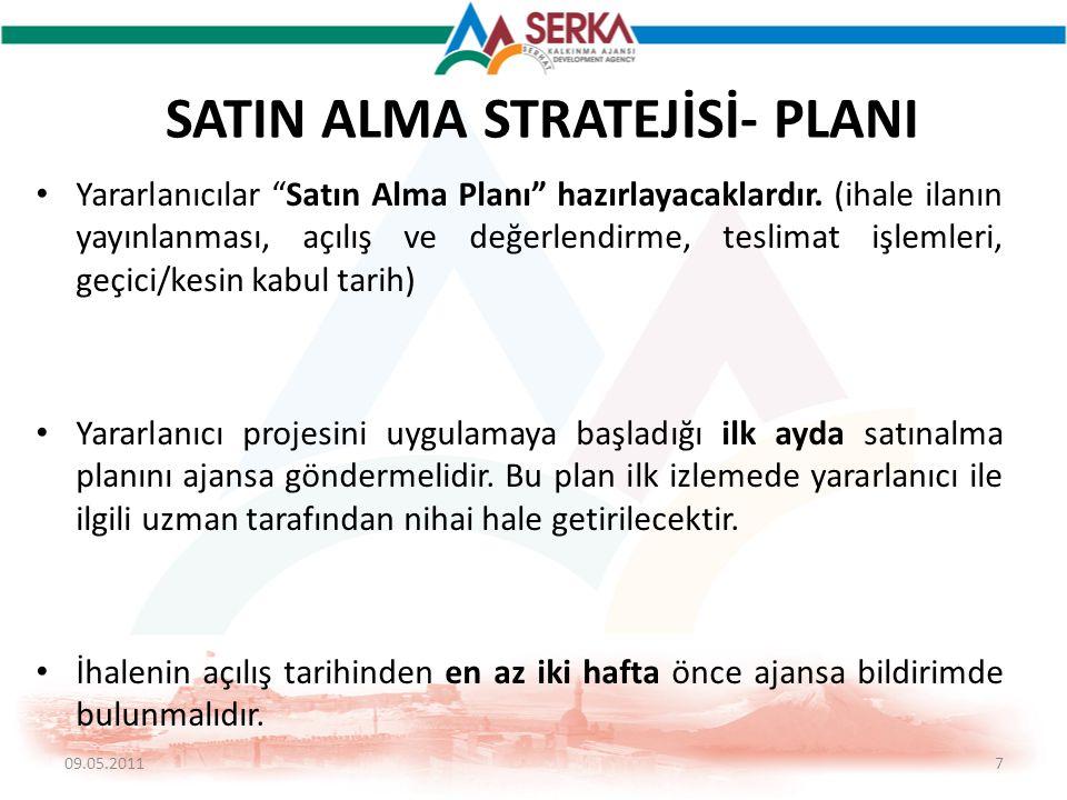 SATIN ALMA STRATEJİSİ- PLANI