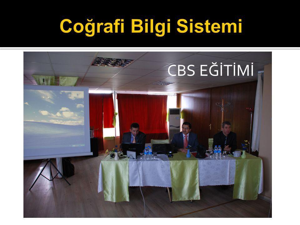 Coğrafi Bilgi Sistemi CBS EĞİTİMİ