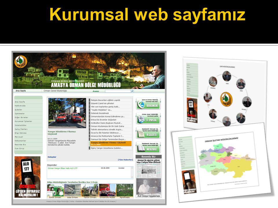Kurumsal web sayfamız