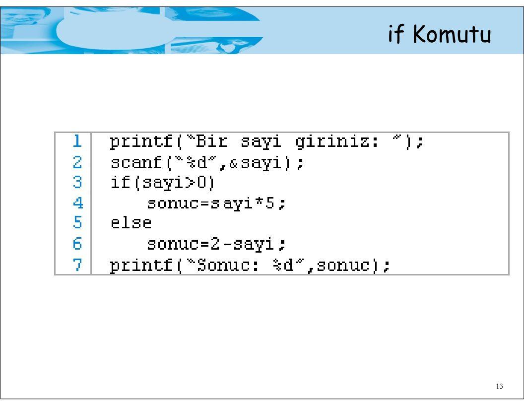 if Komutu 13