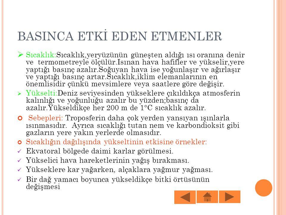 BASINCA ETKİ EDEN ETMENLER