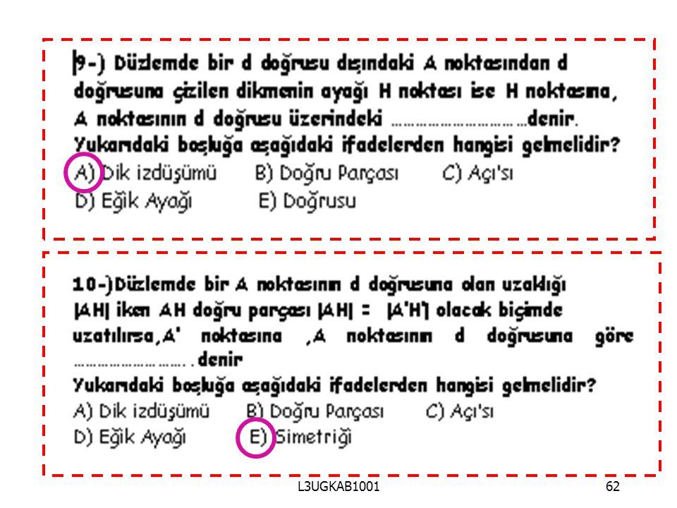 L3UGKAB1001 62 62