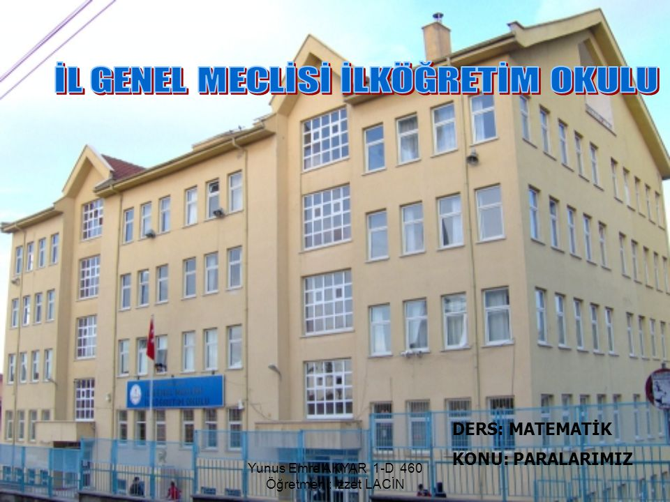 İL GENEL MECLİSİ İLKÖĞRETİM OKULU