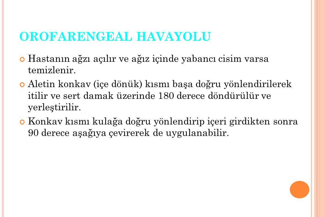 OROFARENGEAL HAVAYOLU