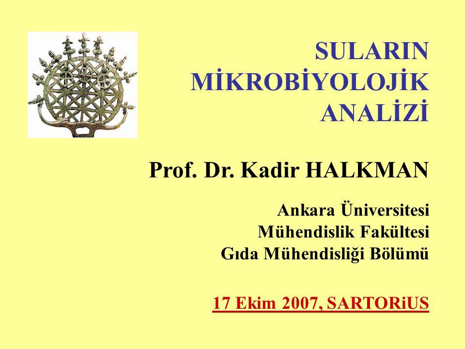 ANALİZİ Prof. Dr. Kadir HALKMAN Ankara Üniversitesi