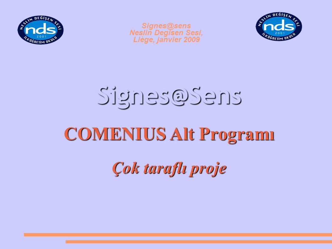Signes@sens Neslin Degisen Sesi, Liège, janvier 2009