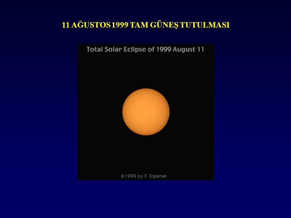 11 AĞUSTOS 1999 TAM GÜNEŞ TUTULMASI