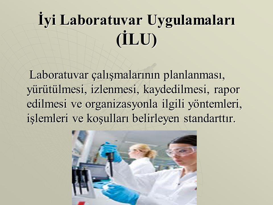 İyi Laboratuvar Uygulamaları (İLU)