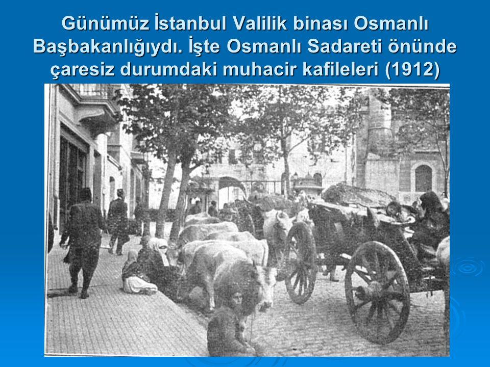 Günümüz İstanbul Valilik binası Osmanlı Başbakanlığıydı