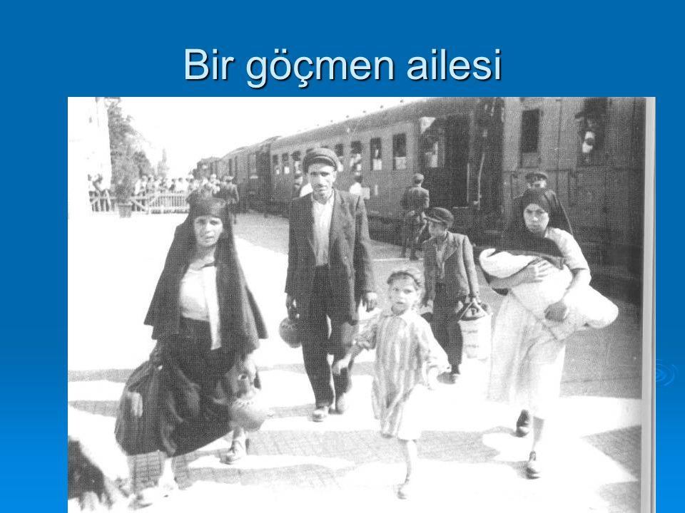 Bir göçmen ailesi