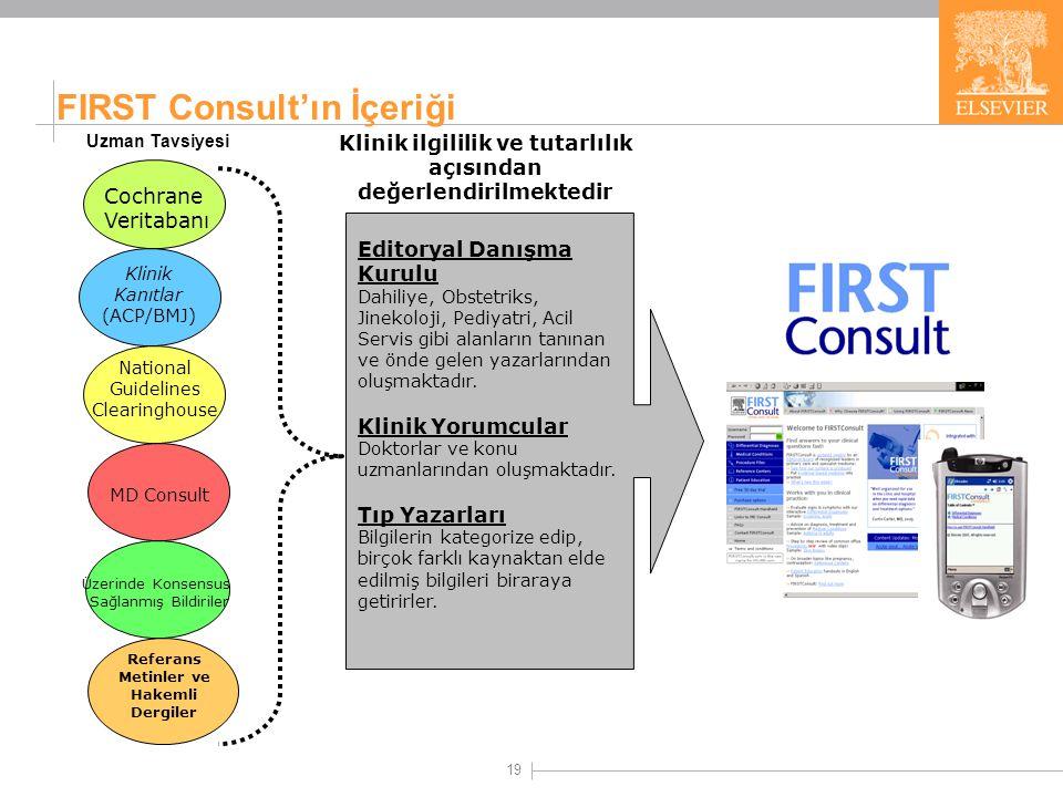 FIRST Consult Hastalıklar Arasındaki Farklılıklara Göre Teşhis Yöntemi - Differential Diagnosis.