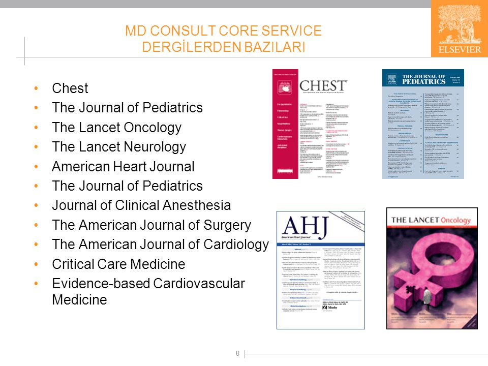 MD Consult – The Clinics of North America Dergileri