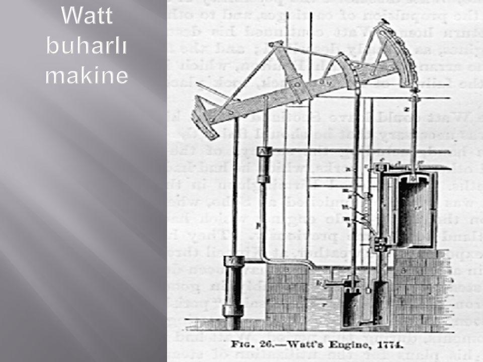 Watt buharlı makine