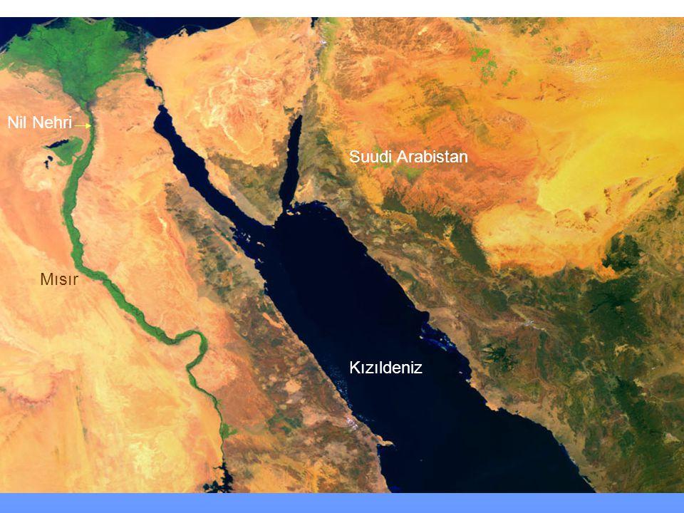 Nil Nehri Suudi Arabistan Mısır Kızıldeniz www.birmilyonimza.com