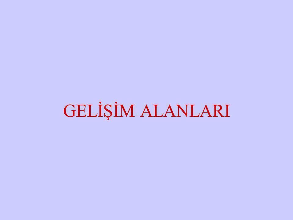 GELİŞİM ALANLARI Halil KARAKUŞ www.zonguldakram.com