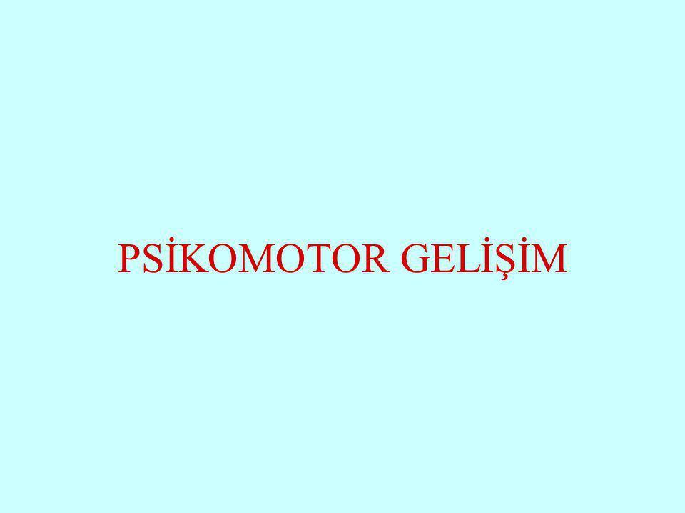 PSİKOMOTOR GELİŞİM Halil KARAKUŞ www.zonguldakram.com