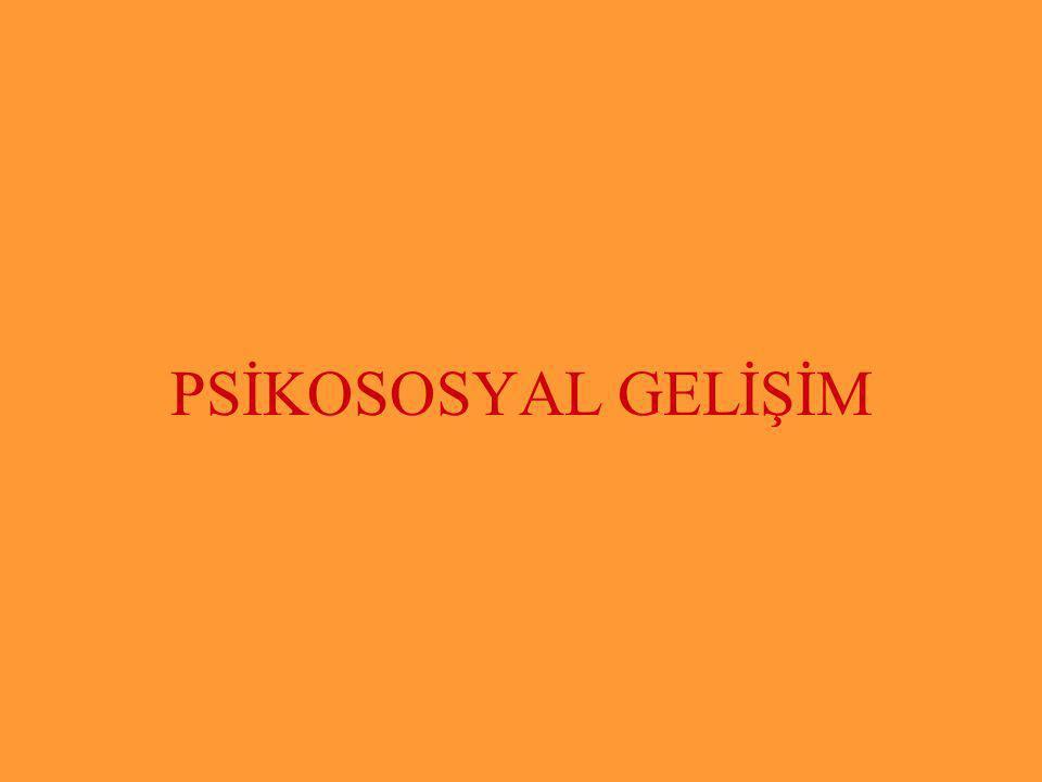 PSİKOSOSYAL GELİŞİM Halil KARAKUŞ www.zonguldakram.com