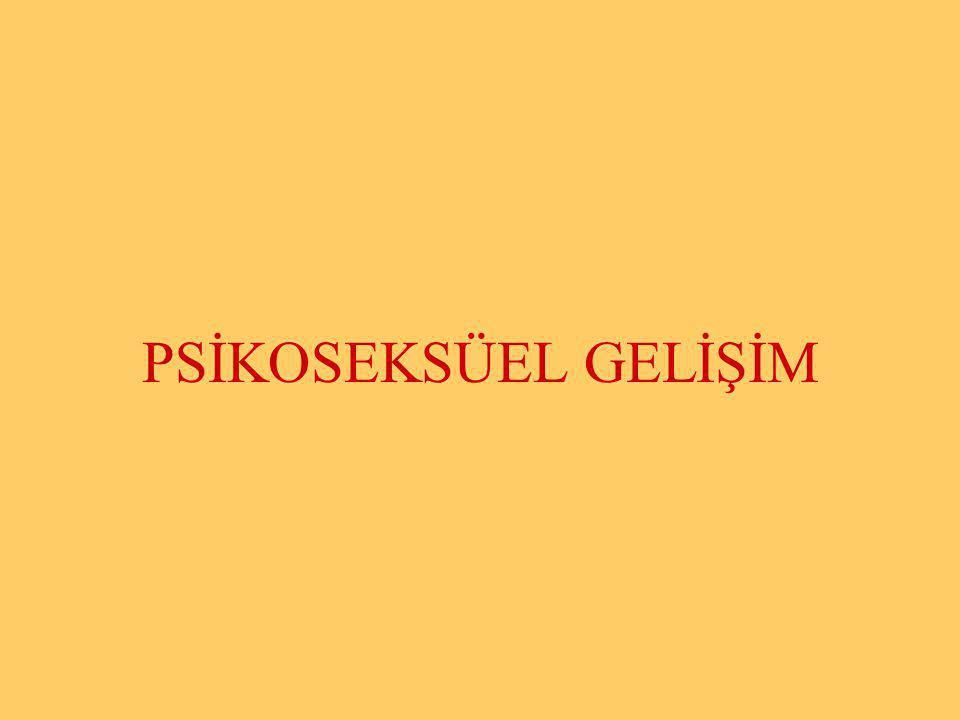 PSİKOSEKSÜEL GELİŞİM Halil KARAKUŞ www.zonguldakram.com