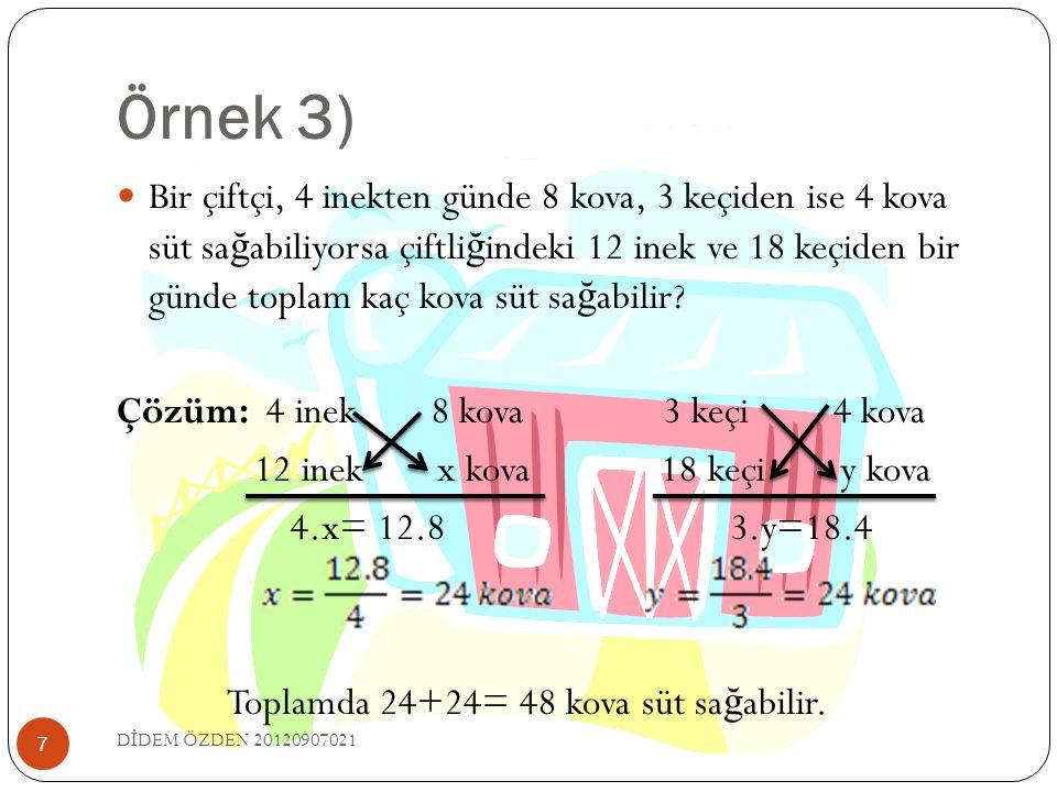 Örnek 3)