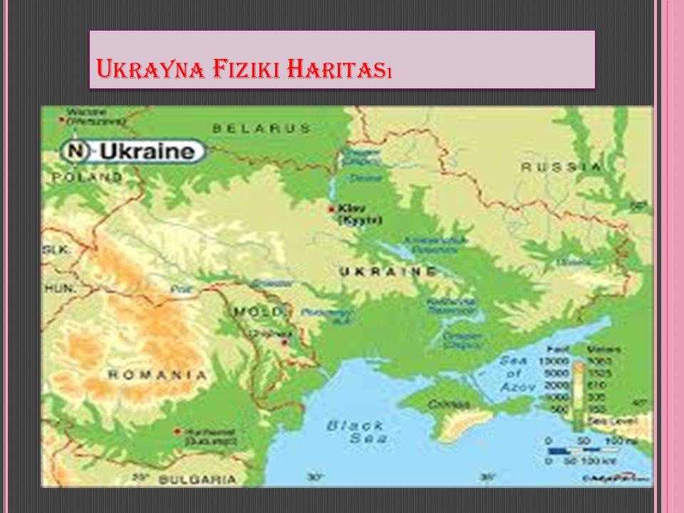 Ukrayna Fiziki Haritası