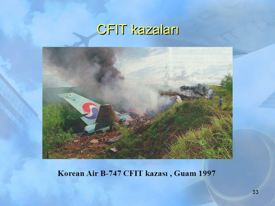 Korean Air B-747 CFIT kazası , Guam 1997