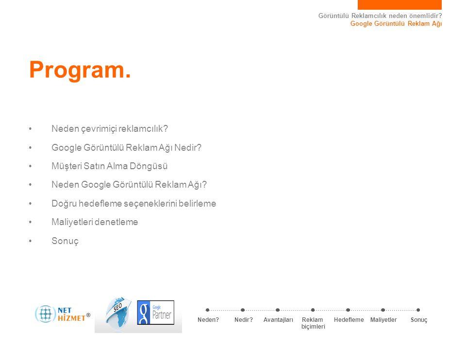 Program. Neden çevrimiçi reklamcılık
