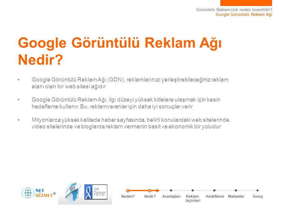 Google Görüntülü Reklam Ağı Nedir