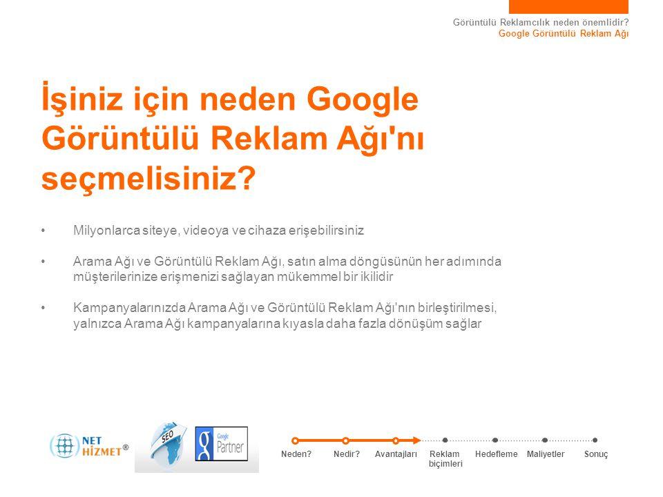 İşiniz için neden Google Görüntülü Reklam Ağı nı seçmelisiniz