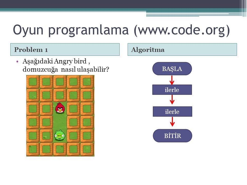 Oyun programlama (www.code.org)