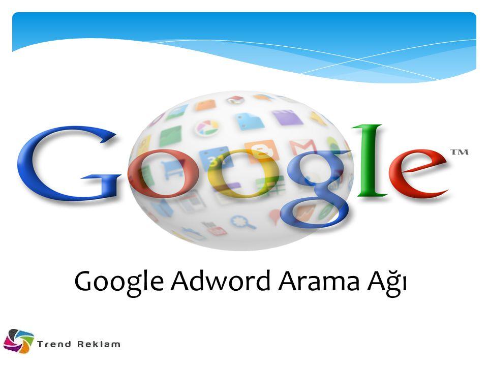 Google Adword Arama Ağı