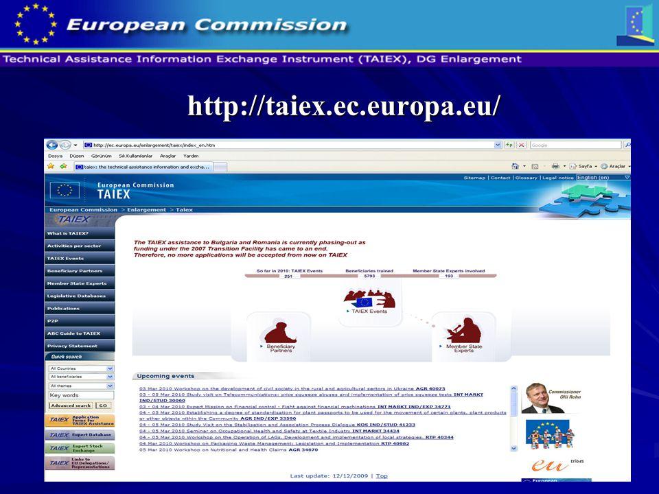 http://taiex.ec.europa.eu/